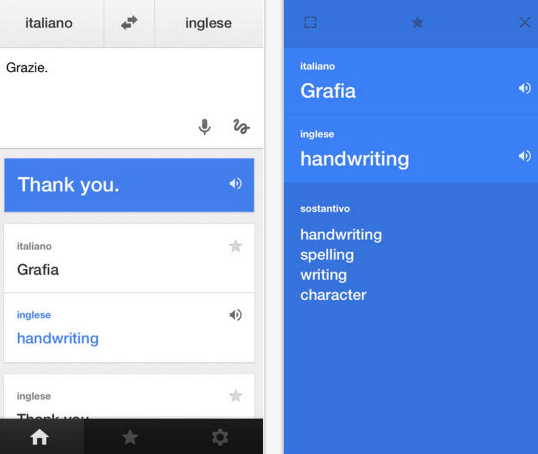 Google traduttore si aggiorna alla versione 2 1 0 amiciapple for Traduttore apple