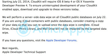 Apple Developer e-mail