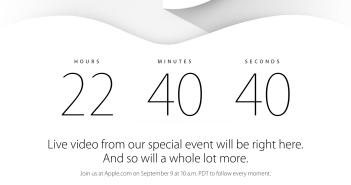 Apple.com live