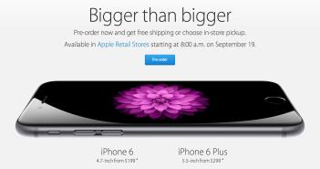 Preordine iPhone 6 USA