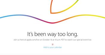 Apple.com:live 16 oct