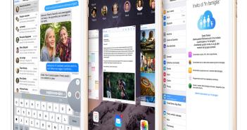 iOS 8 iPad mini 3
