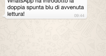 WhatsApp doppia spunta