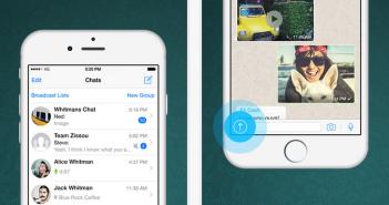 WhatsApp iPhone 6 : Plus