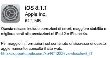 iOS 8.1.1 - iPhone 6