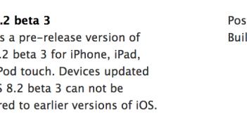 iOS 8 b3