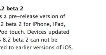 iOS 8.2 b2