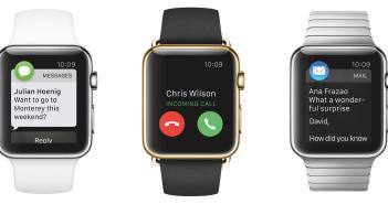 3 varianti di apple watch