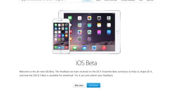 iOS Beta Pubblica