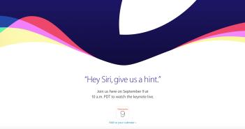 Apple Live 2015, 9 sept