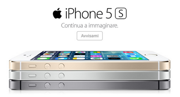 iPhone 5S - tre