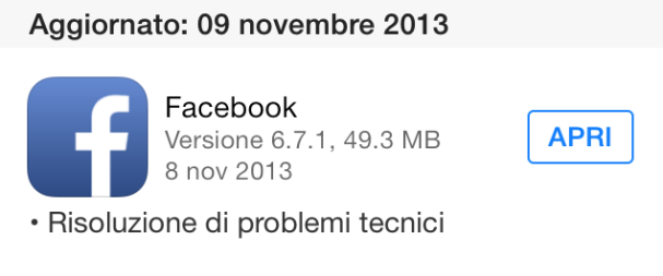 Facebook 6.7.1 - download