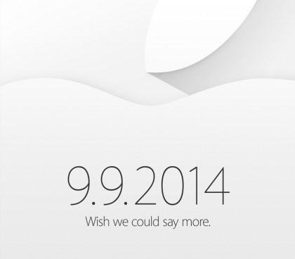 Invito evento Apple 9 settembre - Fonte: The Loop