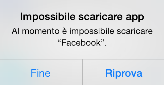 problema facebook 6.7.1