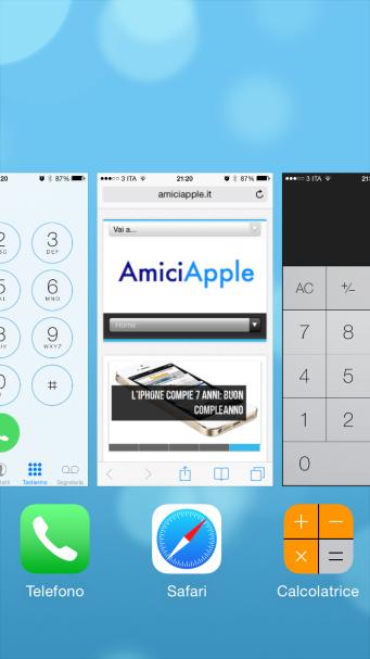 Multitasking AmiciApple
