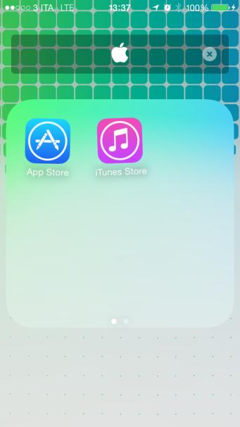 Apple logo iOS