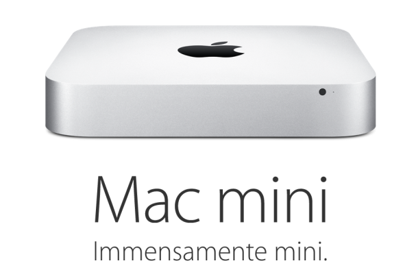 Mac mini immensamente mini