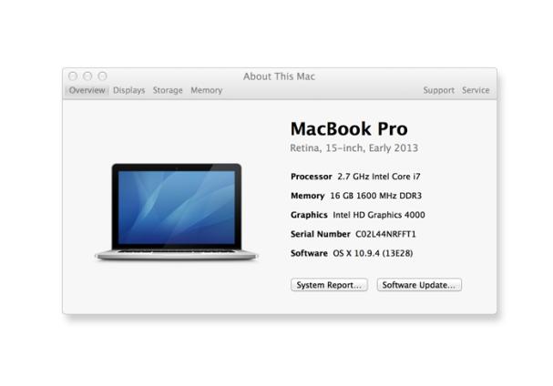 Versione OS X Yosemite