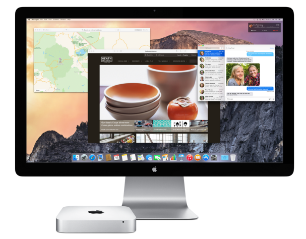 Yosemite mac mini