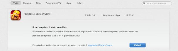 Rimborso App Store 2