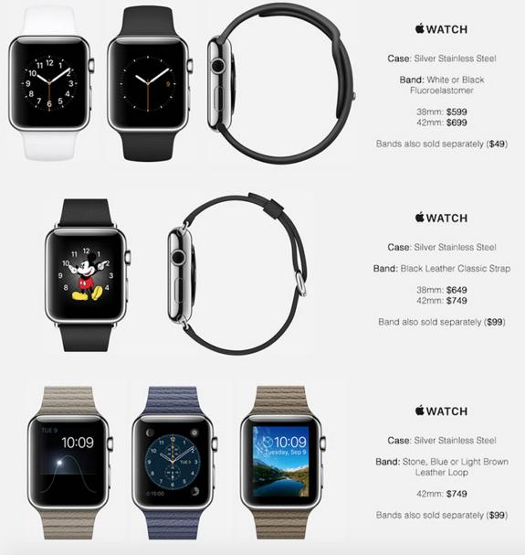Apple Watch prezzi