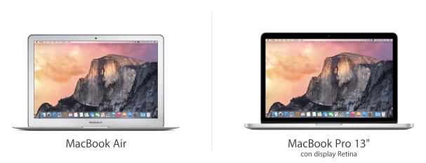 Macbook Air e Pro