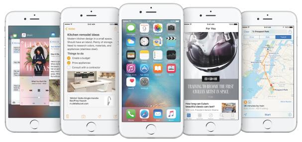 iPhonr 6S - iOS9