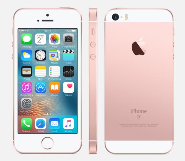 iOS 9 iPhone SE