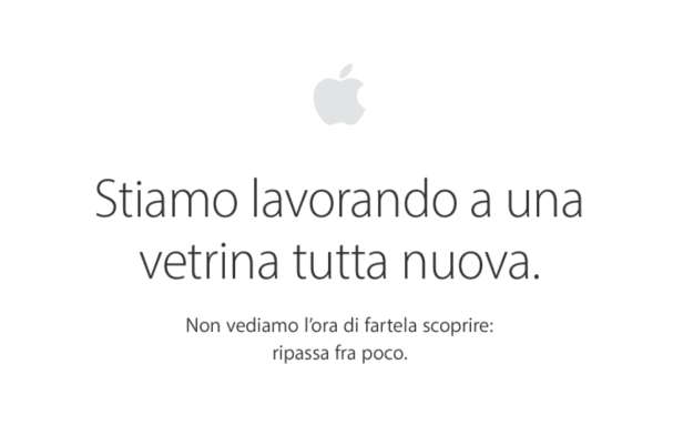 Apple Store offline down