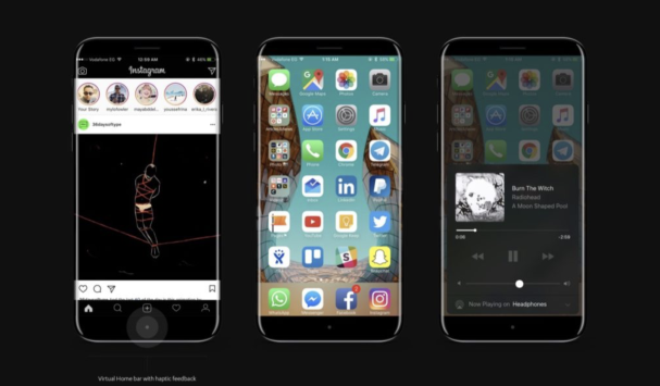 Concept iPhone 8 - Fonte: Twitter